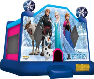 DISNEY FROZEN BOUNCE HOUSE (13X13)