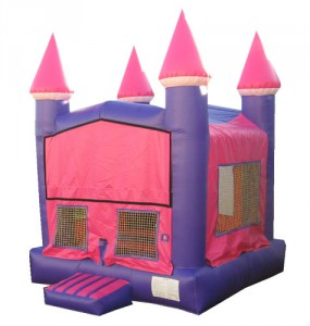 PINK AND PURPLE BOUNCE HOUSE (13x13)