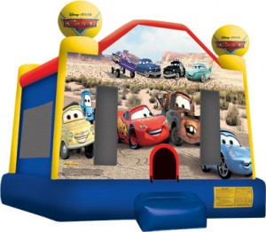 CARS BOUNCE HOUSE (13X13)