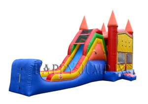 CASTLE 4IN1 COMBO WITH BIG SLIDE (13X30)
