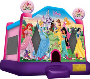 DISNEY PRINCESS BOUNCE HOUSE (13X13)