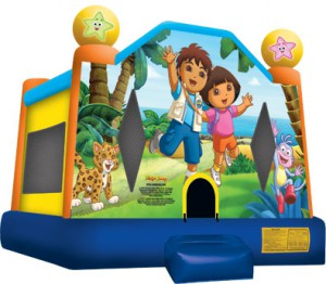 DORA & DIEGO BOUNCE HOUSE (13X13)
