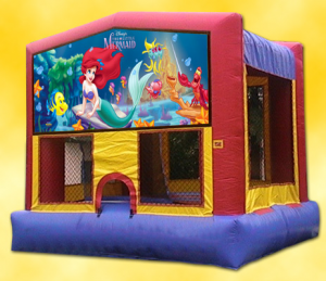 LITTLE MERMAID BOUNCE HOUSE (13x13)
