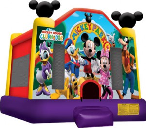 MICKEY MOUSE PARK BOUNCE HOUSE (13X13)