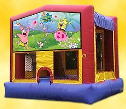 SPONGEBOB BOUNCE HOUSE (13X13)