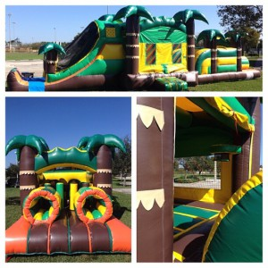 44FT TROPICAL OBSTACLE (14X44)