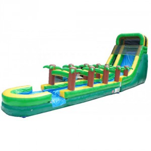 20ft Tropical Screamer with Slip n Slide (18x52