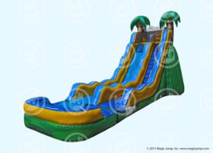 20ft Tropical Wave Slide