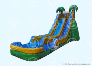 20ft Tropical Wave Slide